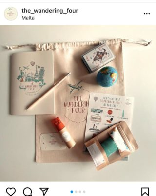 A friend has launched this product amazing travel pack for kids DM @the_wandering_four for further details and please share ... we have had families here and the kids would have loved these packs for exploring support each other and wishing you the best michella love Stephania x